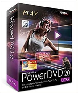CyberLink PowerDVD 20.0.2216.62 Crack + Keygen Full Download 2021