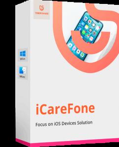Tenorshare iCareFone 7.2.1 Crack + Serial Key Free Download [Win/Mac]