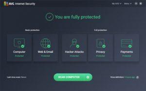 AVG Internet Security 2022 Crack + Activation Key Latest